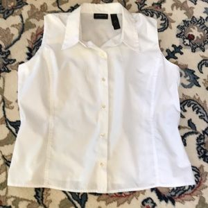 Liz Clairborne Collection White Blouse